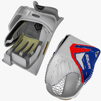 max ice hockey blocker gloves