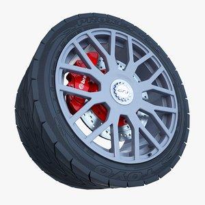gt3 wheel max