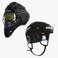 ice hockey helmet 3ds