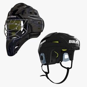 ice hockey helmet 3ds