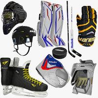 3d ice hockey equipment