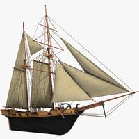 sailboat halcon schooner sail
