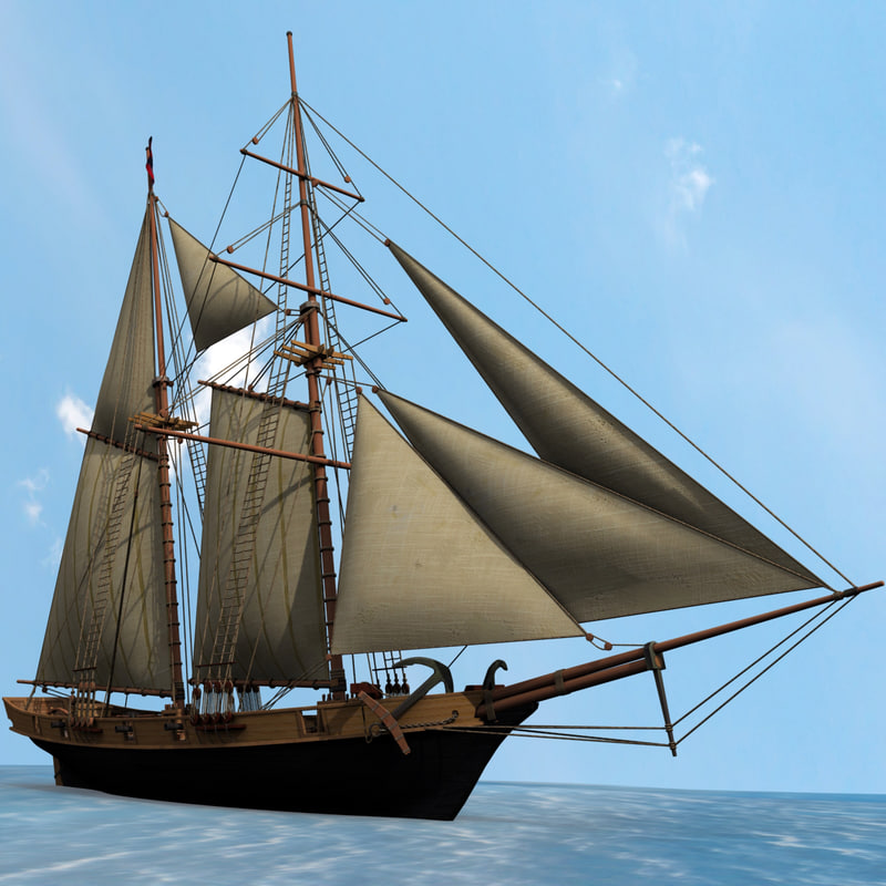 sailboat halcon schooner sail