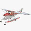 Cessna 172 3D models
