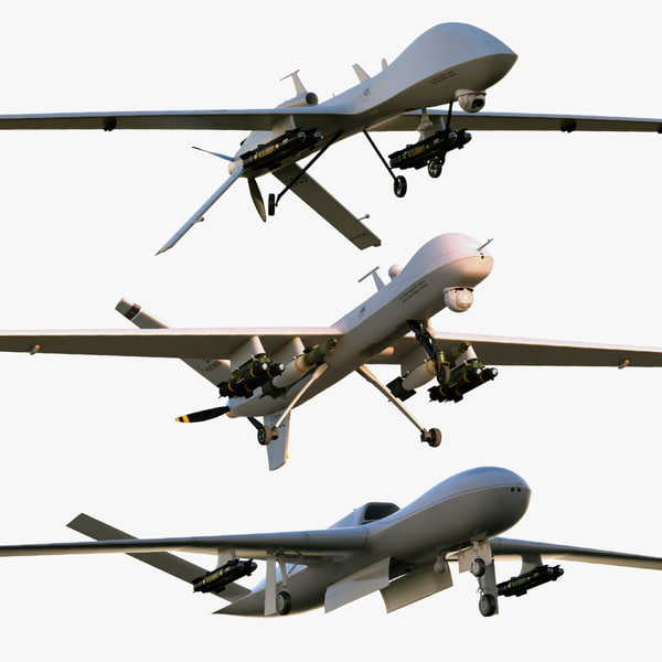 3ds max unmanned general atomics