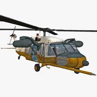 3ds max mh-60 black hawk 2