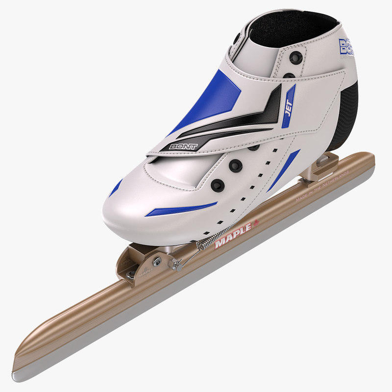 3d model of speed skating