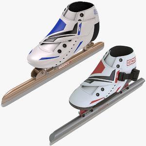 3dsmax speed skating