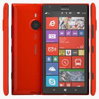 3d model nokia lumia 1520 phablet