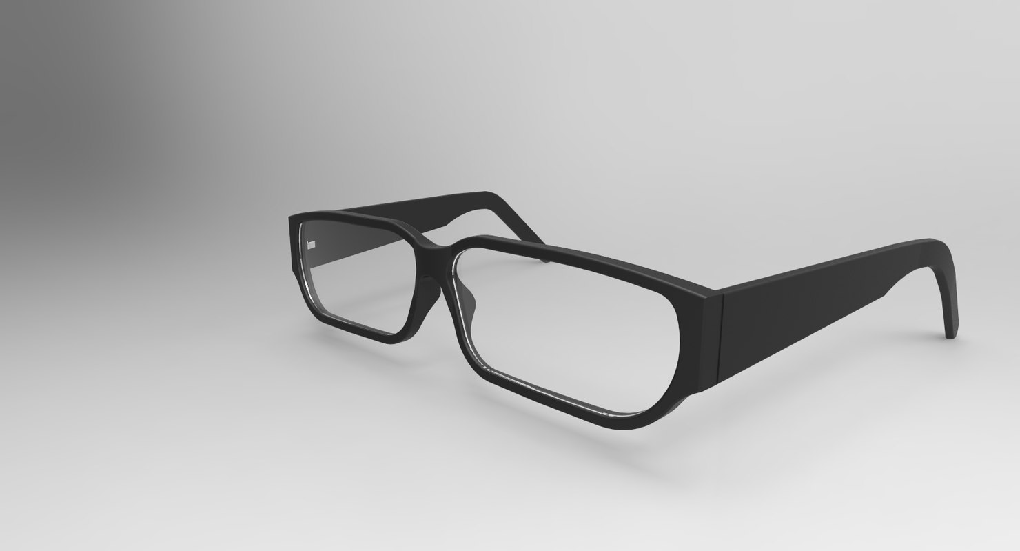 reading glasses 3d model