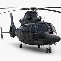 eurocopter private black 3d max