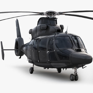 eurocopter private black 3d max