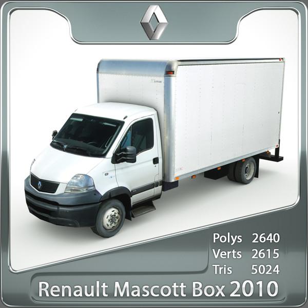 Renault Mascott 2010 cargo BOX