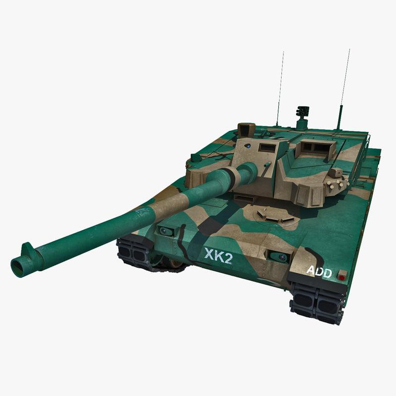 3d korea main battle tank
