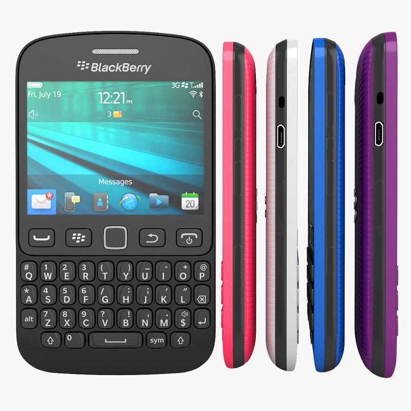 3d model blackberry 9720 smartphone available