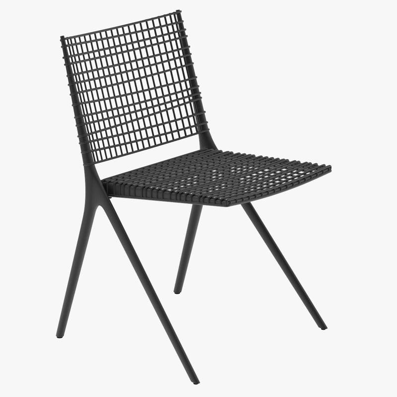 3d model tribu branch chair