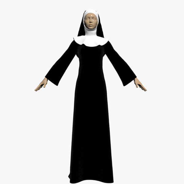 3ds max dress nuns