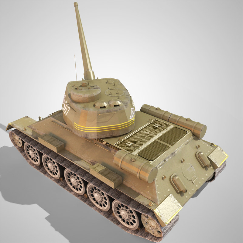 3ds max t tank wwii