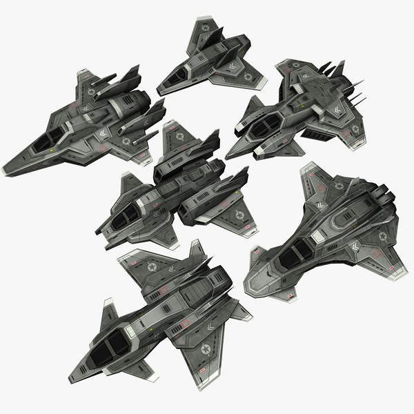 6 Space Frigates