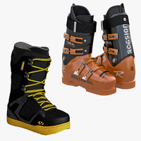 snowboard soft hard boots 3ds