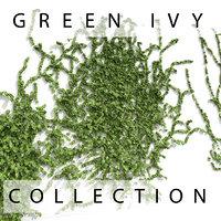 3d ivy garden fence model