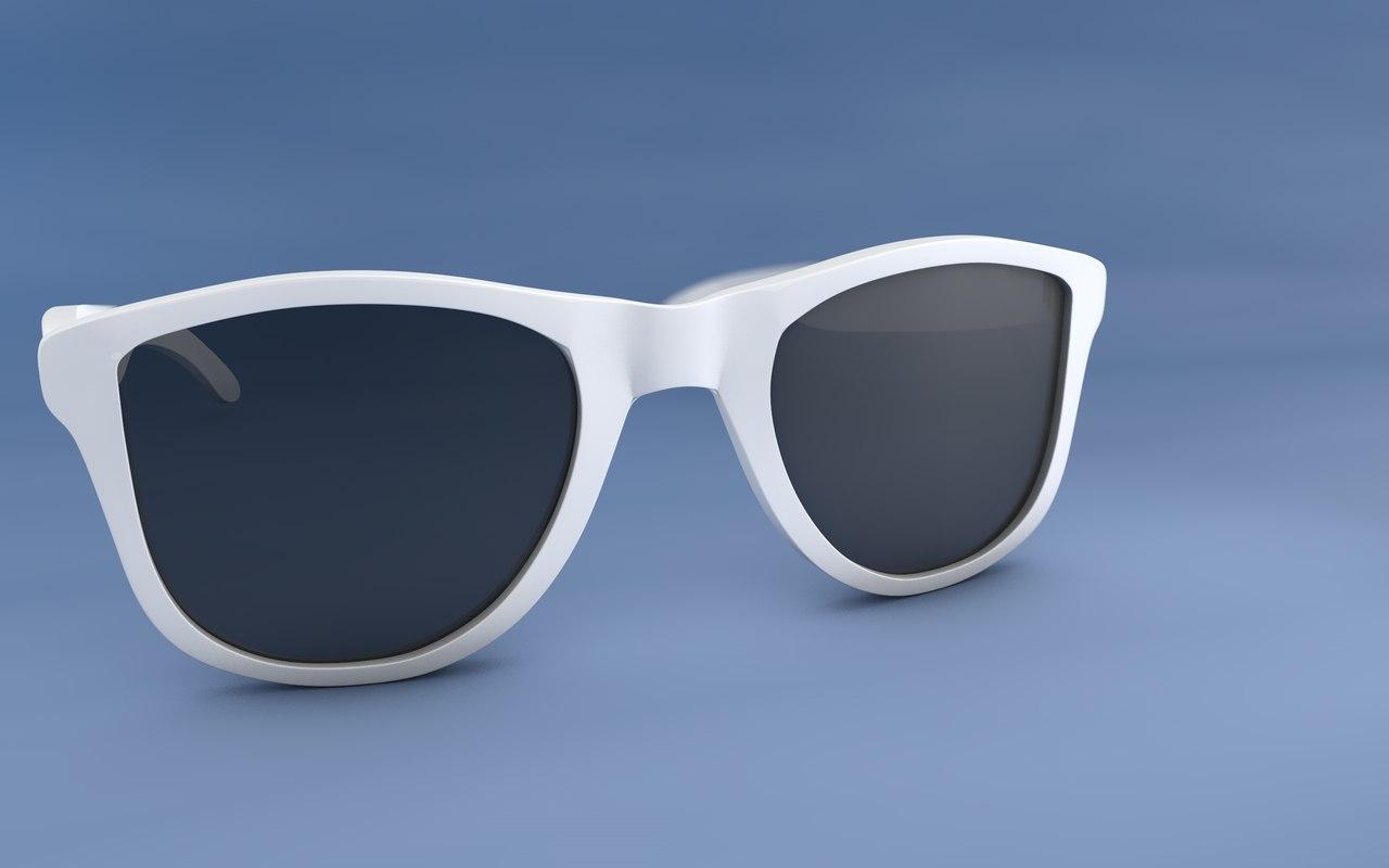 sunglasses glasses 3d c4d