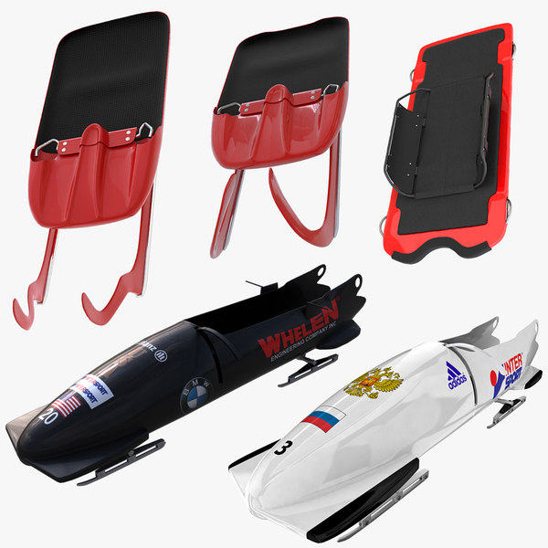 Bobsleds Luge and Skeleton Sleds Collection