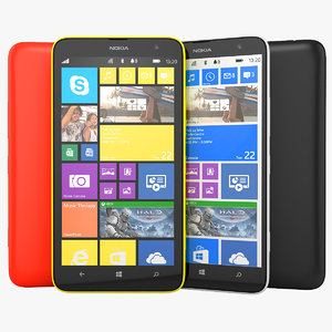 Nokia Lumia 1320 Phablet Smartphone All Available Colors