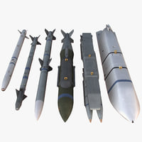 modern nato payload 3d model
