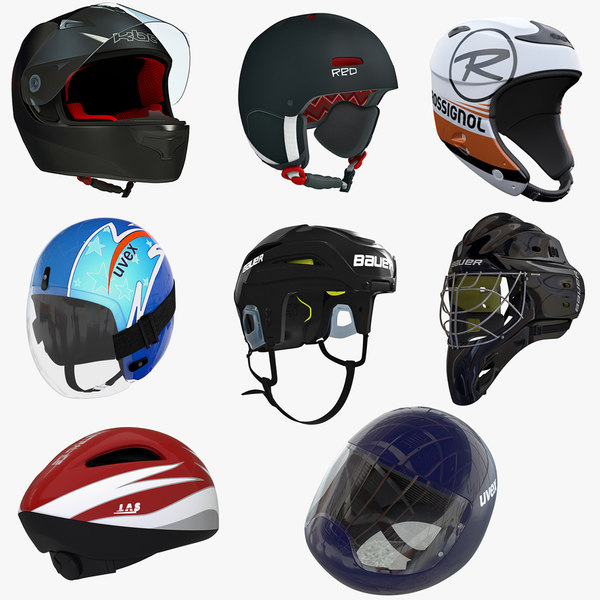 Winter Sports Helmets Collection