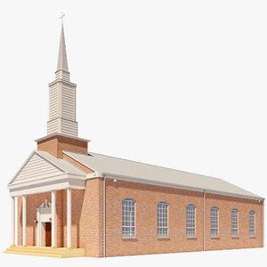 3ds max baptist church
