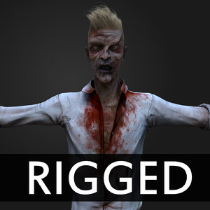 Zombie Rigged