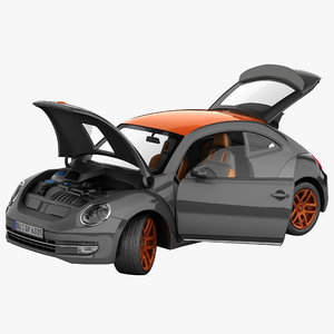 3d max volkswagen beetle 2012 tunned