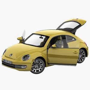Volkswagen Beetle 2012 Rigged 2