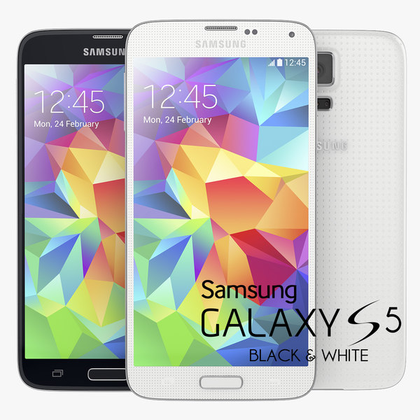 samsung galaxy s5 white vs black. samsung galaxy s5 new flagship smartphone black and white vs