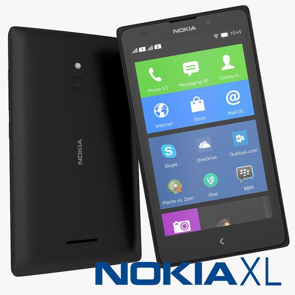 nokia xl smartphone max