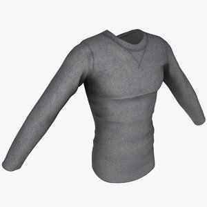3d long sleeved shirt