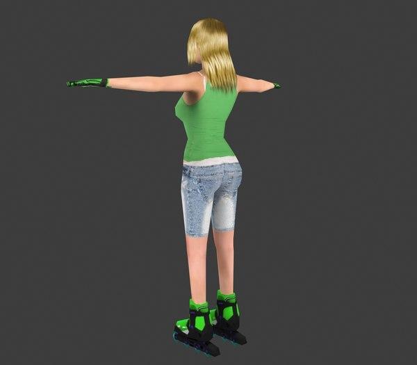 Skater Girl 3