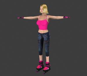 max skater skate girl