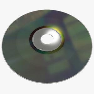 dvd rw disc 3d c4d