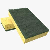 sponge cleaning 3d max