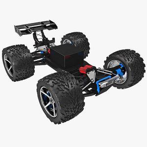 3d radio control car transmission model