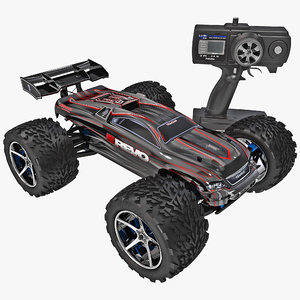 3ds radio control car traxxas