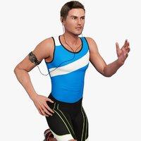 male athlete max