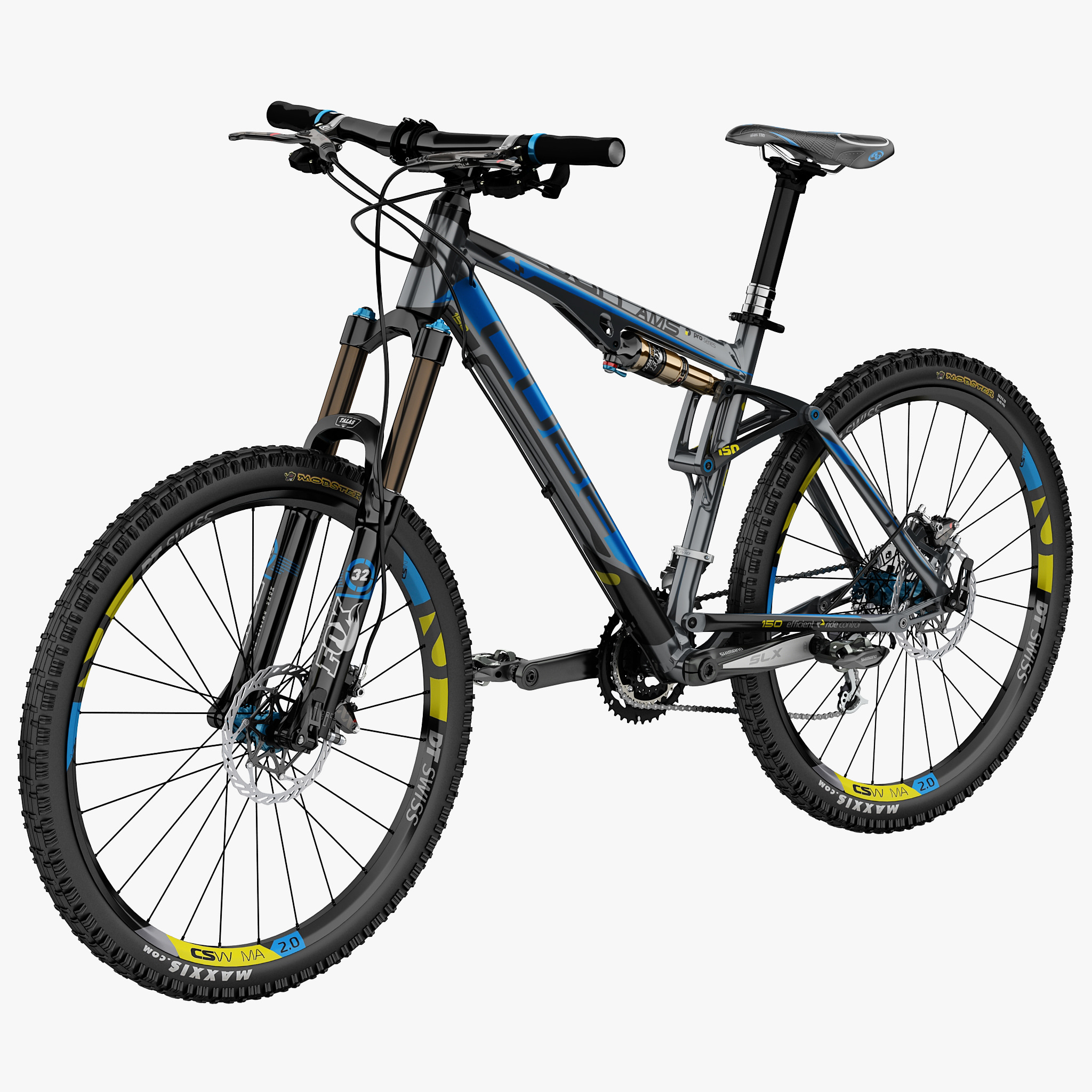3ds max mountain bike cube ams