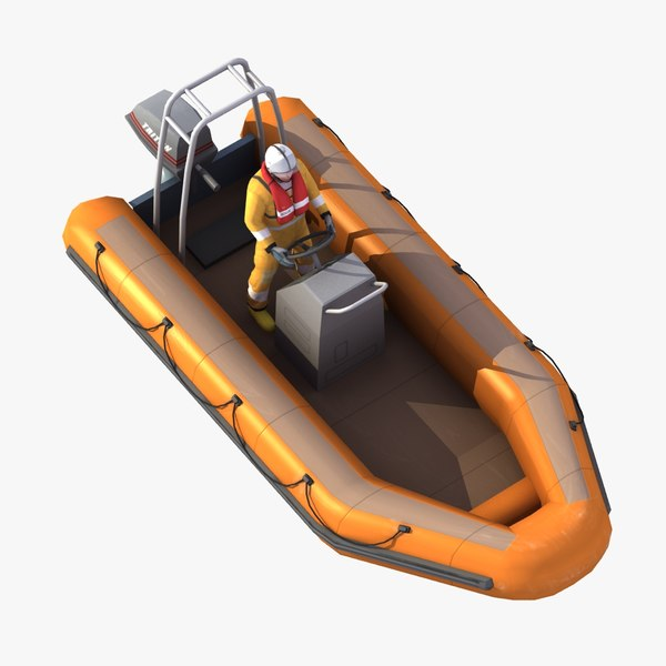 rigid rib dinghy max