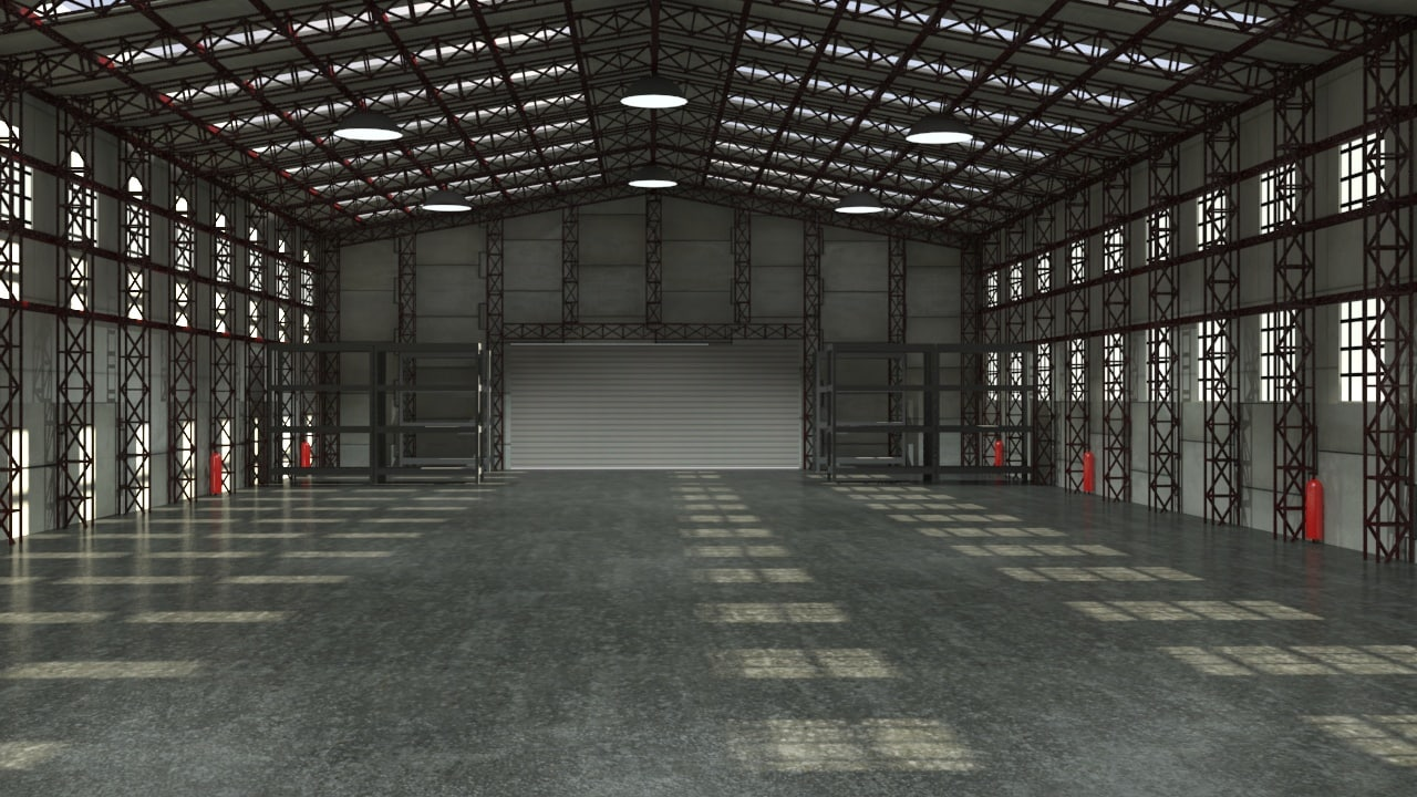 Storage Warehouse Interior Max