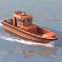 go-fast boat 3D models