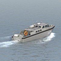 3d model landing craft