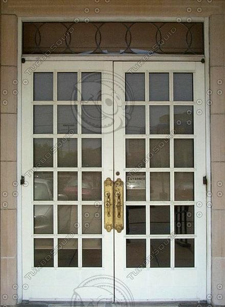 Paned church door.jpg